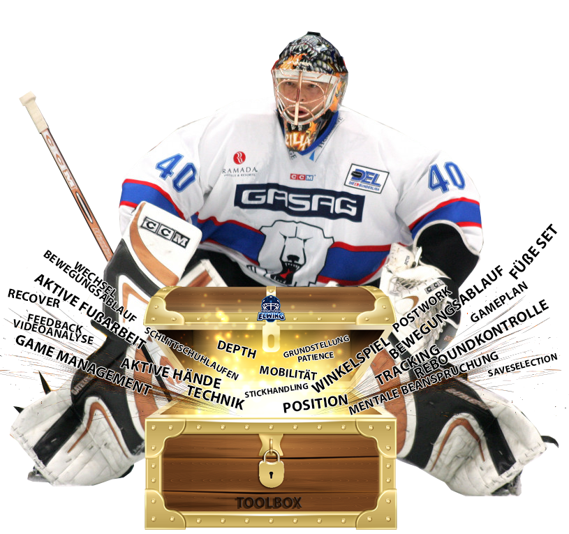 Eishockey Goalie Toolbox Philosophie